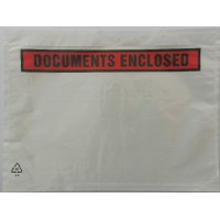 Paklijstenvelop / documenthoes Documents Enclosed